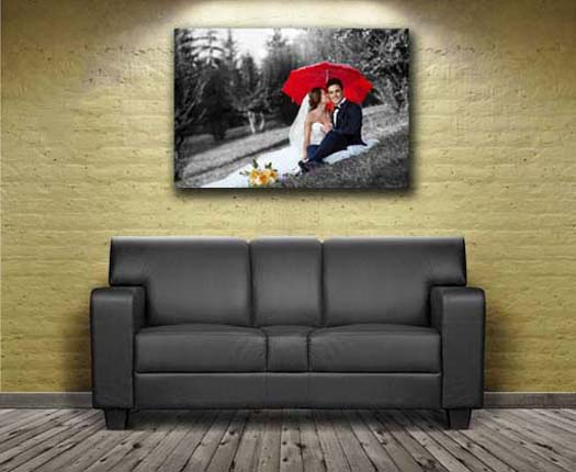 Free special effects to bring your canvas print to life
