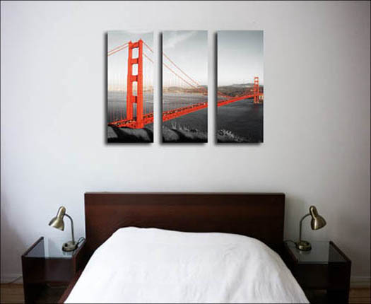 Split your image into beautiful triptych canvas prints